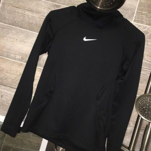 NIKE COWL NECK TEXTURED HOODIE (S)